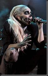 Lady gaga at grammy perform